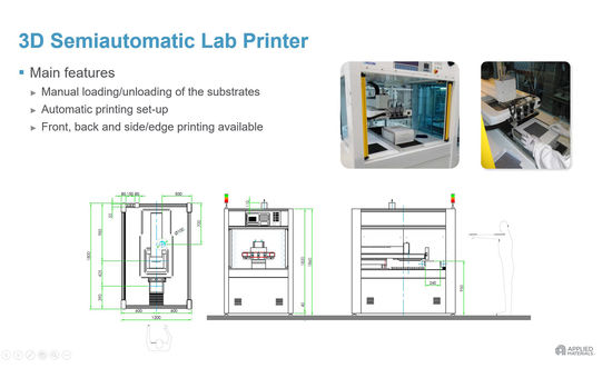3D Semiautomatic Screen-Printer